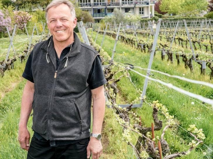 vigneron bio du Domaine de la Devinière à Genève
