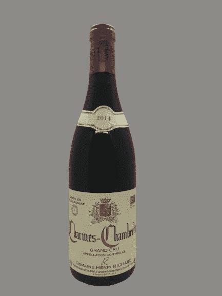 vin bio Charmes-Chambertin d'Henri Richard