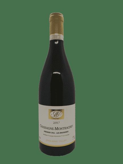 vin bio Chassagne-montrachet 1er Cru Les Baudines de Jean-Marc Pillot