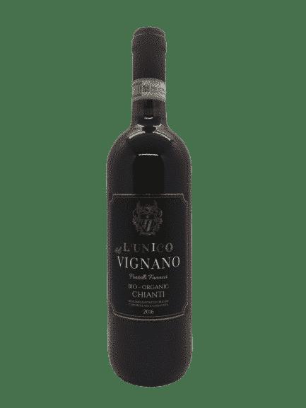 vin bio Chianti l'unico de Vignano