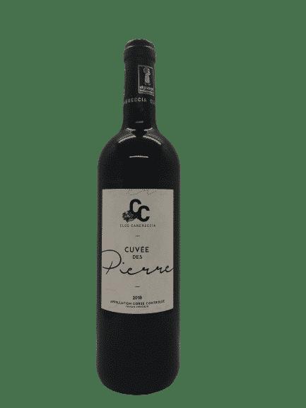 vin bio Cuvée des Pierres des Clos Canereccia