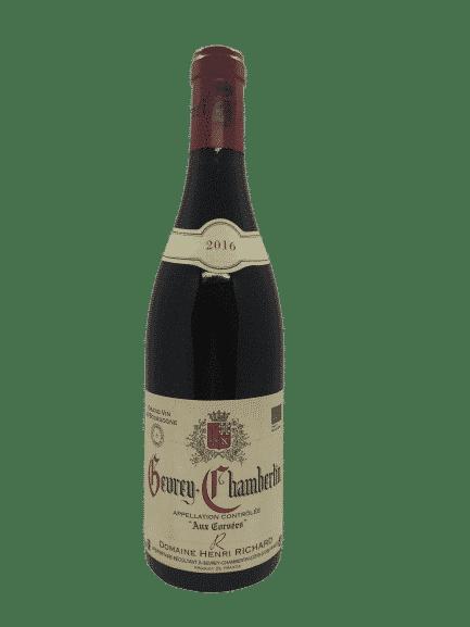 vin bio Gevrey-Chambertin Aux Corvées de Henri Richard