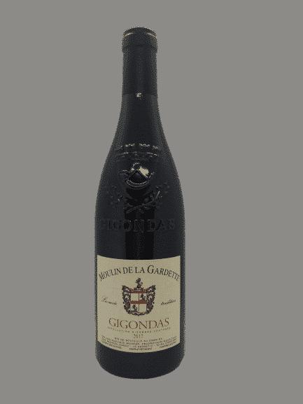 vin bio Gigondas du Moulin de la Gardette
