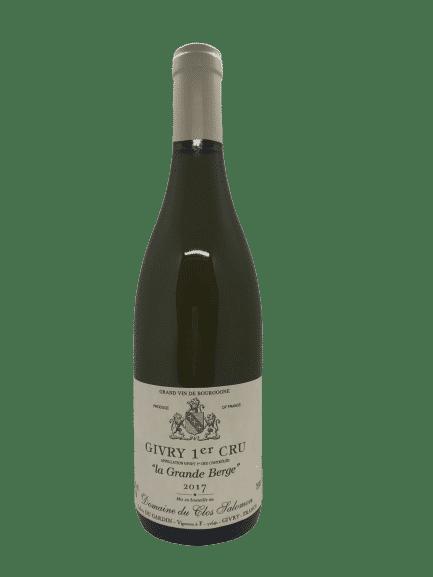 vin bio Givry 1er Cru La Grande Berge de Clos Salomon