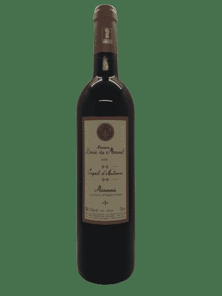vin bio - Minervois Esprit d'Automne - Borie de Maurel