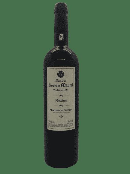 vin bio - Minervois Maxime - Borie de Maurel