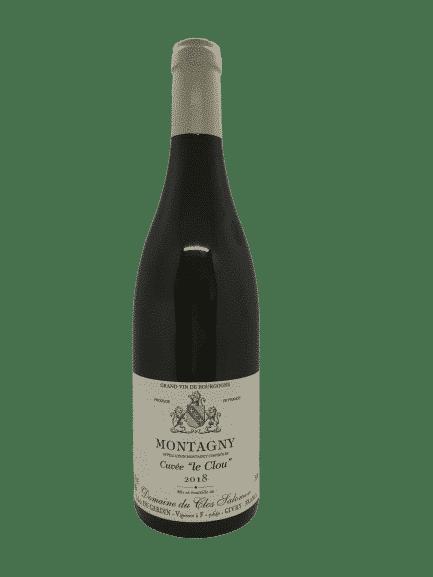 Montagny Le Clou 2018 vin bio du Clos Salomon