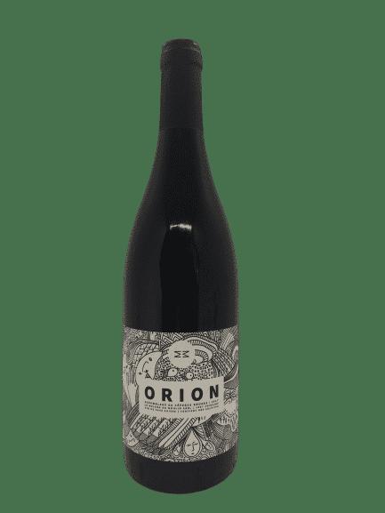 Orion, moulin rouge, vin rouge bio