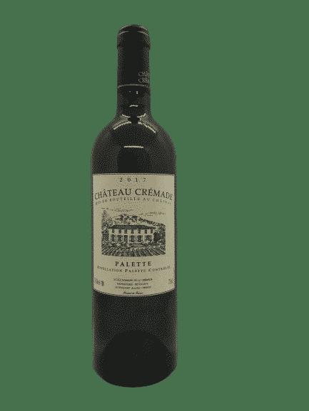 palette blanc, crémade, vin bio, Provence