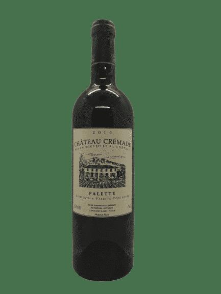 vin bio - Palette blanc - Château Crémade