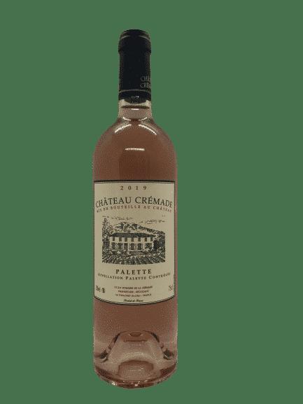 palette rosé, crémage, Provence, vin bio