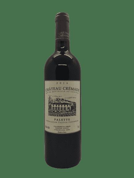 vin bio - Palette rouge - Château Crémade