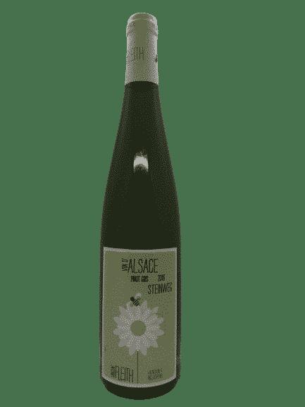 vin bio -Pinot Gris Steinweg - Vincent Fleith