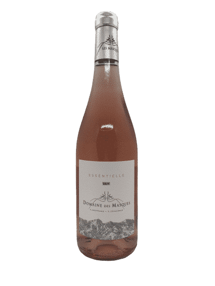 vin rosé bio essentielle du domaine les masque