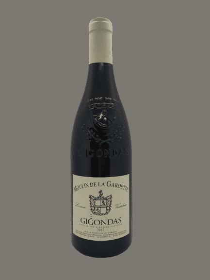 Gigondas Ventabren, moulin de la Gardette, vin bio rouge