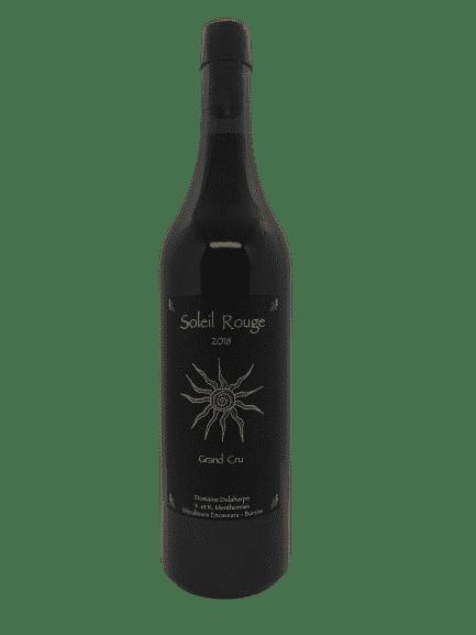 soleil rouge, vin rouge bio, bio suisse